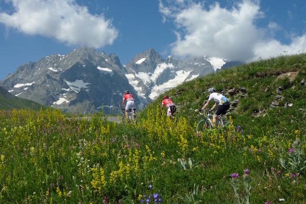 Sportliche Radreise in den Alpen: Haute Route Frankreich