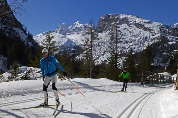 Langlaufreisen in den Alpen