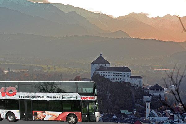 Linienbus bei Kufstein
